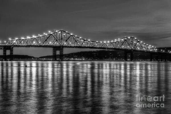 Photograph - Tappan Zee Bridge Twilight IIi by Clarence Holmes