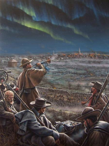 Fredericksburg Wall Art - Painting - Taps by Dan  Nance