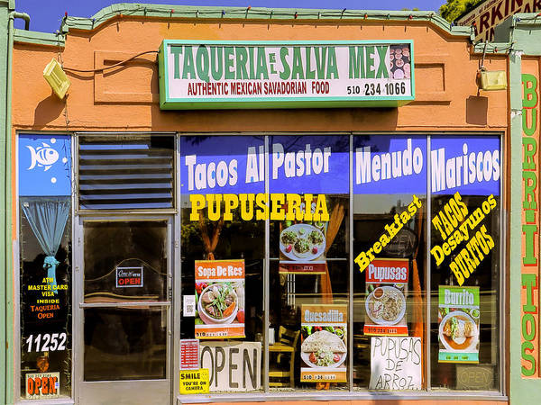 El Salvador Photograph - Taqueria by Dominic Piperata