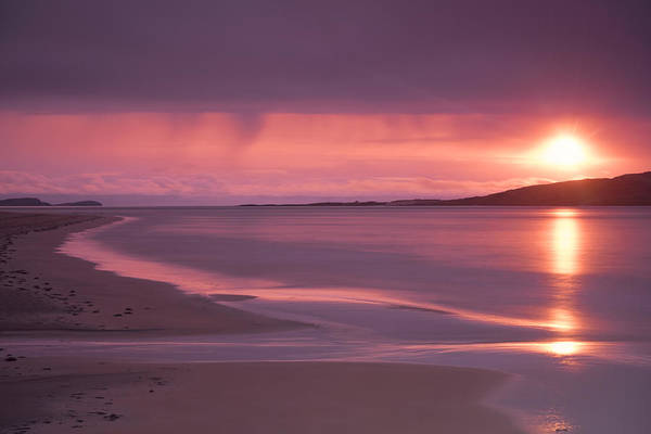 Photograph - Taransay At Sunset by Neil Alexander