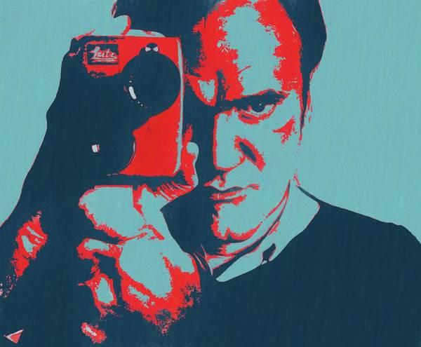 Wall Art - Painting - Tarantino Pop Art by Dan Sproul