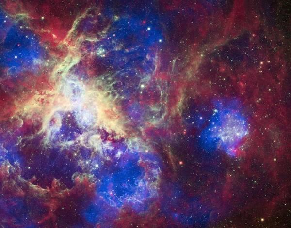 Star Cluster Painting - Tarantula Nebula 2 by Celestial Images