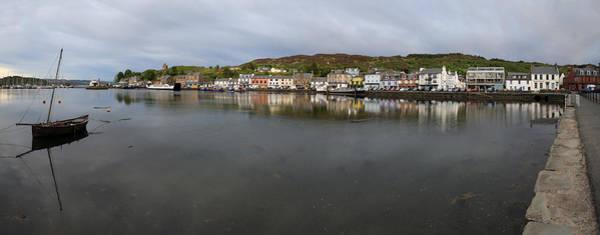 Tarbert Harbour - Panorama Art Print