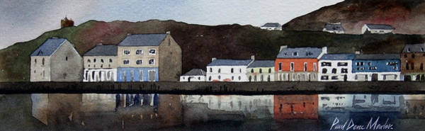 Wall Art - Painting - Tarbert by Paul Dene Marlor