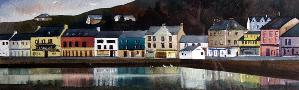 Wall Art - Painting - Tarbert Reflections by Paul Dene Marlor