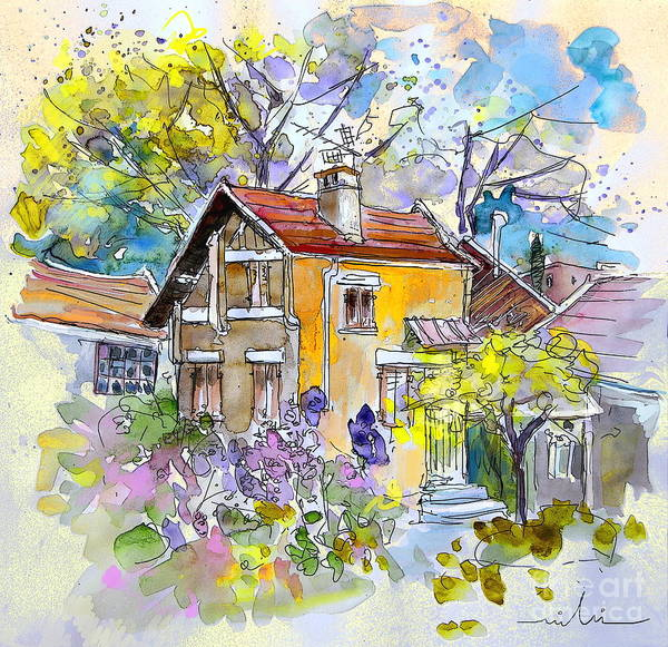 Pyrenees Painting - Tarbes 03 by Miki De Goodaboom