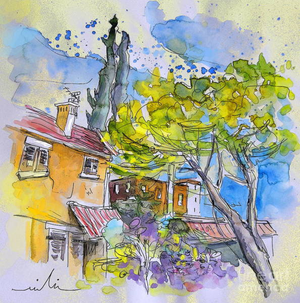 Pyrenees Painting - Tarbes 04 by Miki De Goodaboom