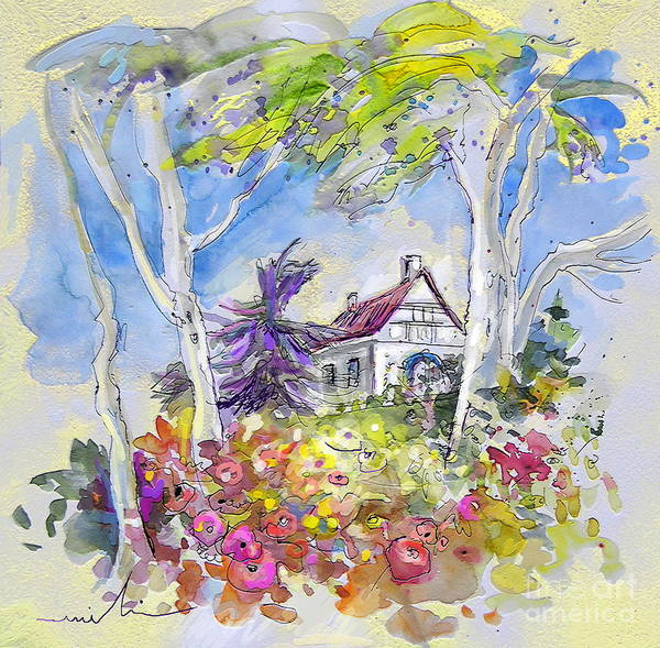 Pyrenees Painting - Tarbes 05 by Miki De Goodaboom