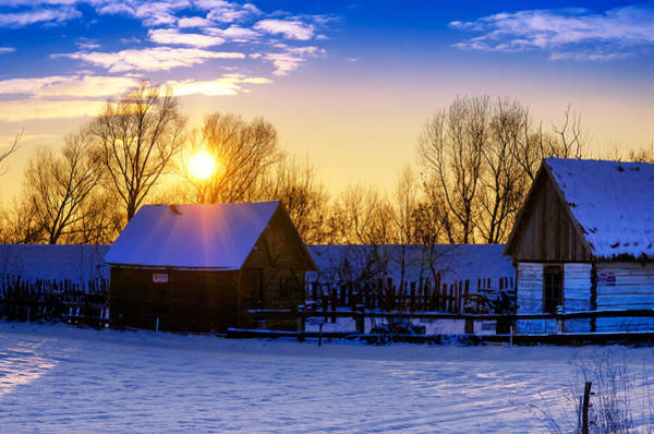 Photograph - Tarchomin Sunset by Tomasz Dziubinski