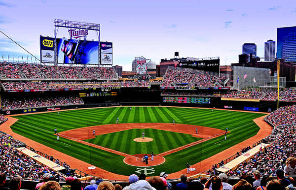 Minneapolis Photograph - Target Field by Lyle  Huisken