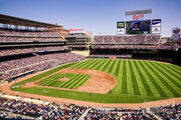 Photograph - Target Field by Scott Kemper