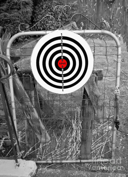 Photograph - Target Love by Bill Thomson