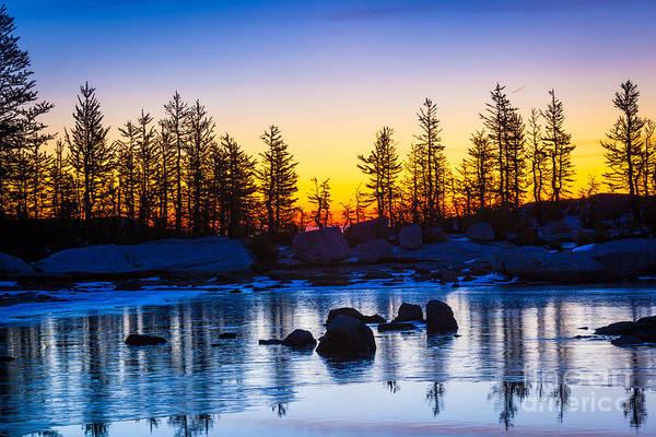 Photograph - Tarn Ice by Inge Johnsson