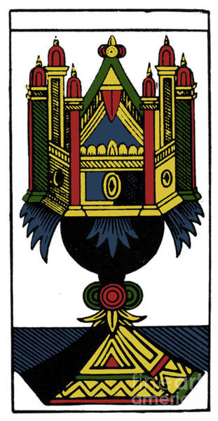 Photograph - Tarot Card Ace Of Cups by Granger