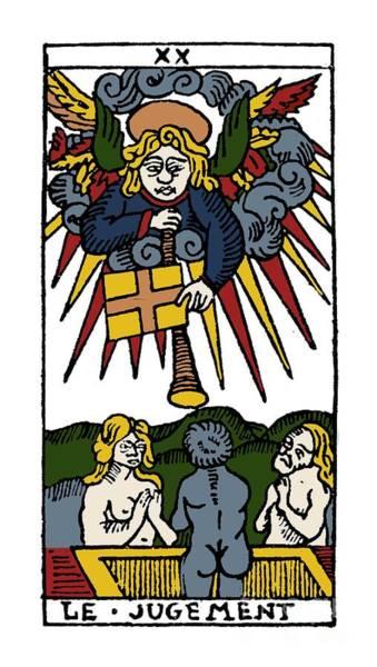 Photograph - Tarot Card Judgement by Granger