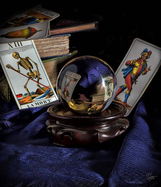 Photograph - Tarot Cards by Endre Balogh