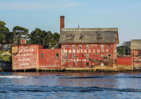 Photograph - Tarr And Wonson Paint Manufactory by Brian MacLean