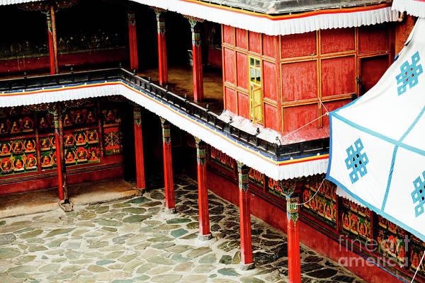 Photograph - Tashilhunpo Monastery Shigatse Tibet Artmif.lv by Raimond Klavins