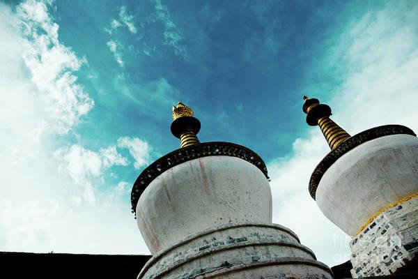 Photograph - Tashilhunpo Monastery Shigatse Tibet Yantra.lv  by Raimond Klavins