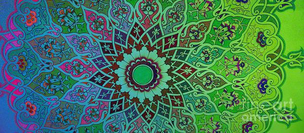 Digital Art - Tashkent Blossoms Mug by Mamoun Sakkal