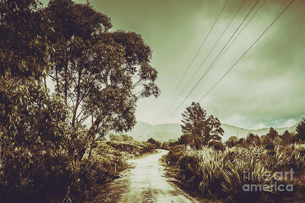Gravel Road Photograph - Tasmania Country Roads by Jorgo Photography - Wall Art Gallery