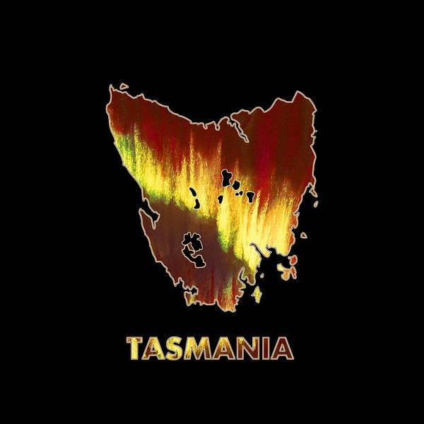 Digital Art - Tasmania - Southern Lights - Aurora Hunters by Anastasiya Malakhova