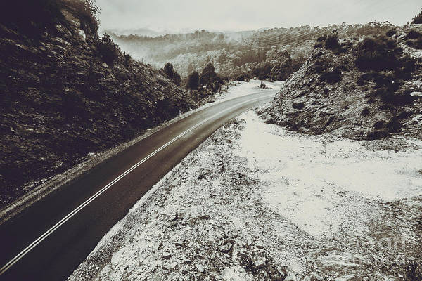 Country Road Photograph - Tasmania Wilderness Way by Jorgo Photography - Wall Art Gallery