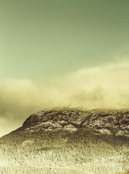 Photograph - Tasmanian Mountain Ranges by Jorgo Photography - Wall Art Gallery