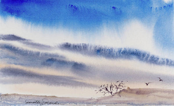 Painting - Tasmanian Skies Never Cease To Amaze And Delight. by Dorothy Darden