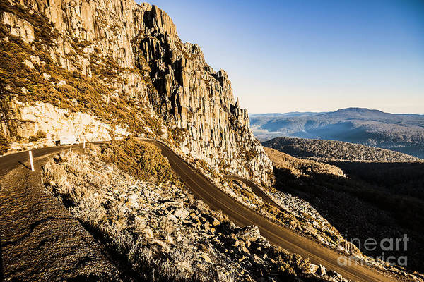 Winding Roads Photograph - Tasmanian Turns by Jorgo Photography - Wall Art Gallery