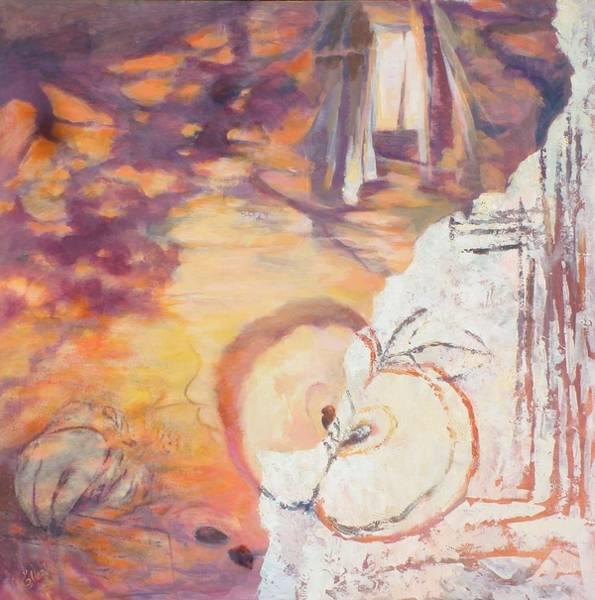 Wall Art - Painting - Taste Of The Apple Seeds by Ekaterina Mortensen