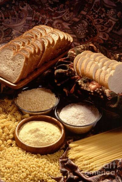 Ingredient Digital Art - Tasty Bread And Its Ingredients by R Muirhead Art