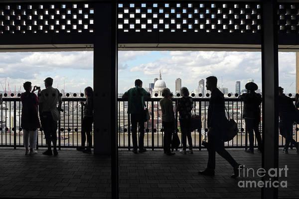 Photograph - Tate Modern Switch House Viewing Deck London by Julia Gavin