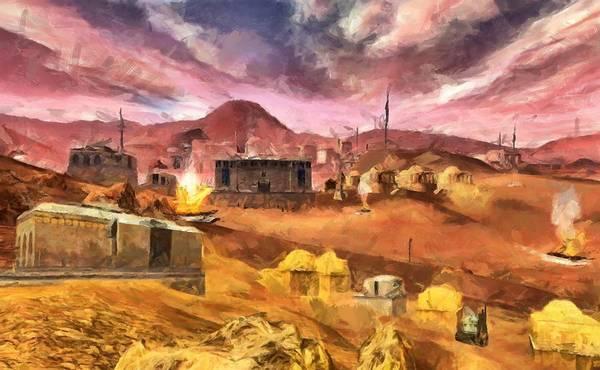 Digital Art - Tatooine by Caito Junqueira