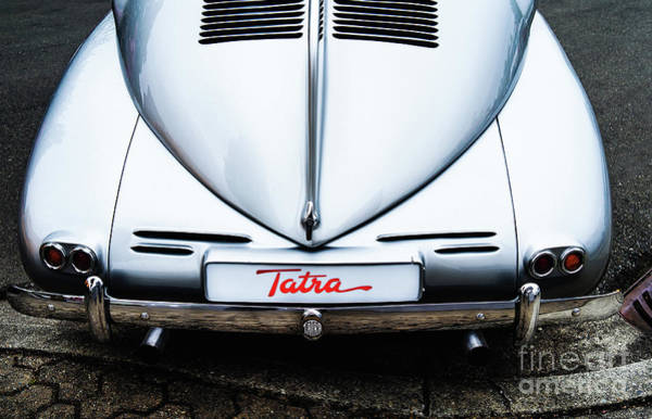 Photograph - Tatra T87 Rear View by M G Whittingham