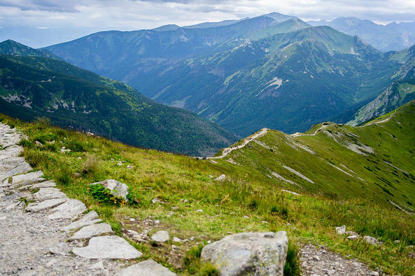 High Tatras Wall Art - Photograph - Tatry From The Kasprowy Wierch by Pati Photography