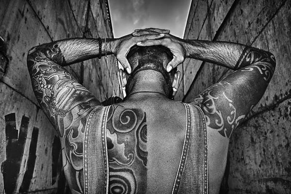 Masculine Photograph - Tattoo by Stelios Kleanthous