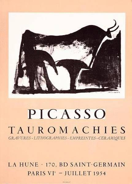 Torro Painting - Tauromachies by Pablo Picasso