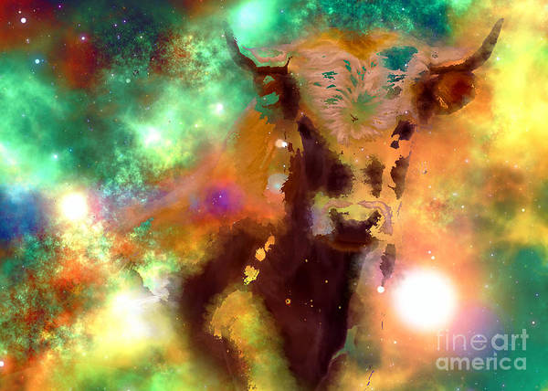 Digital Art - Taurus 2016 by Kathryn Strick