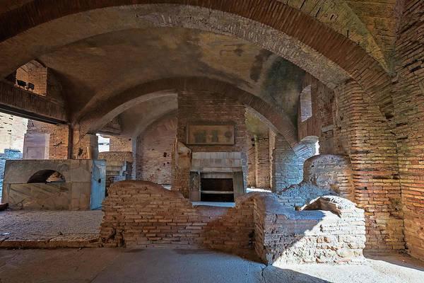 Wall Art - Photograph - Tavern At Ostia Antica Italy by Joan Carroll