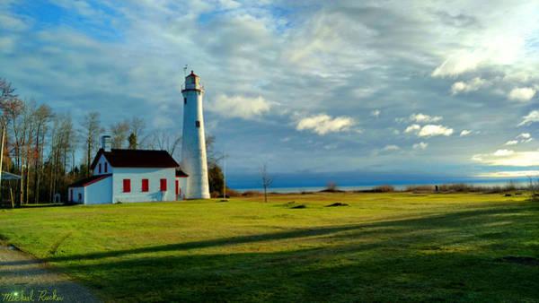 Wall Art - Photograph - Sturgeon Point Lighthouse by Michael Rucker