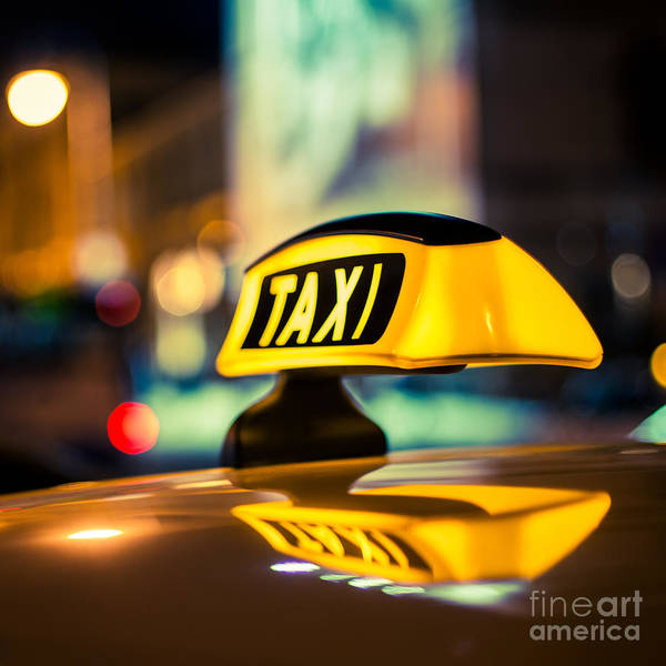 Photograph - Taxi 1x1 by Hannes Cmarits