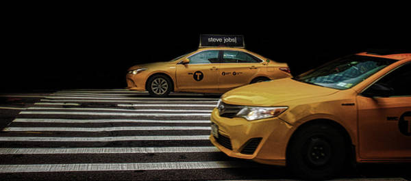 Yellow Taxi Photograph - Taxi by Martin Newman
