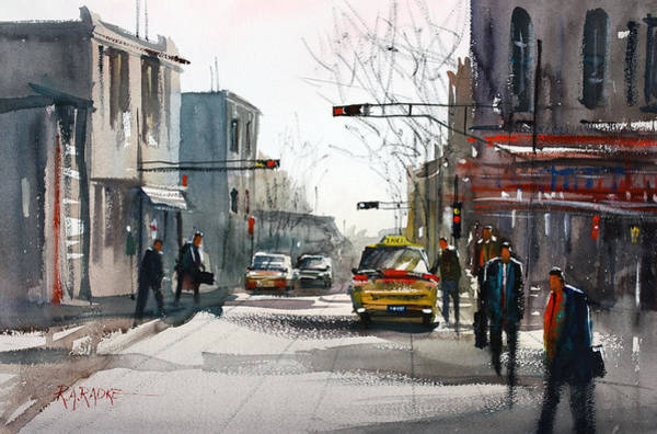 Taxi Painting - Taxi by Ryan Radke