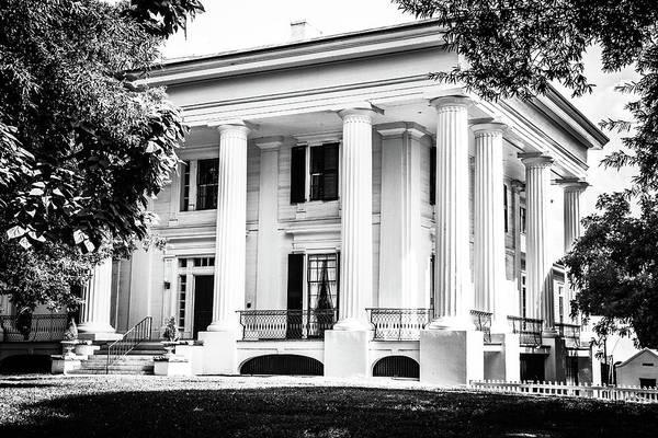 Photograph - Taylor-grady House Bw by Doug Camara