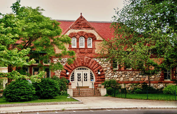 Taylor Library Milford Connecticut Art Print