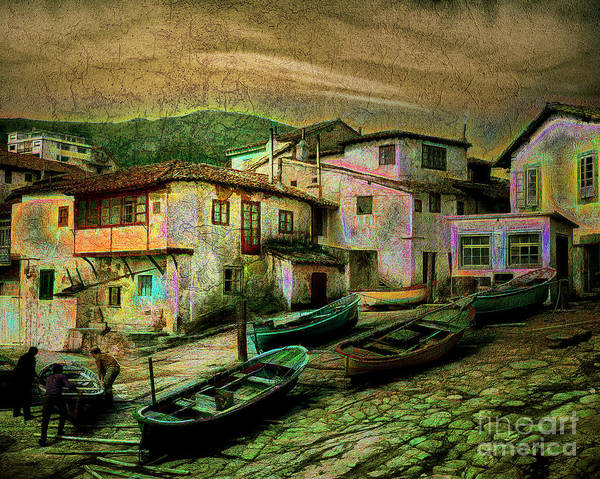 Photograph - Tazones Harbour by Edmund Nagele