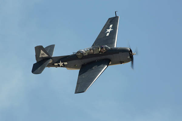 Photograph - Tbf Avenger by John Daly