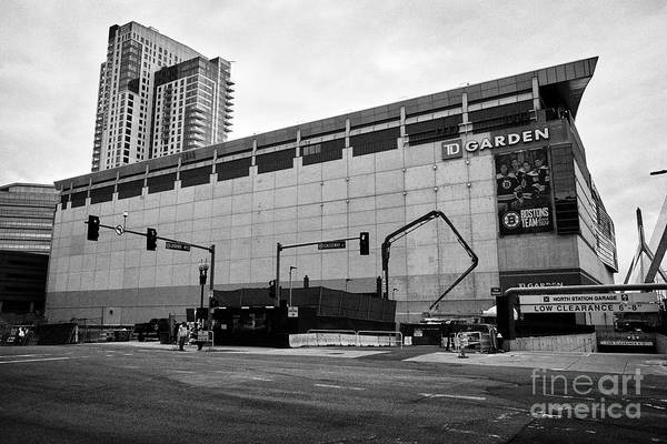 Wall Art - Photograph - Td Garden Arena Boston Usa by Joe Fox