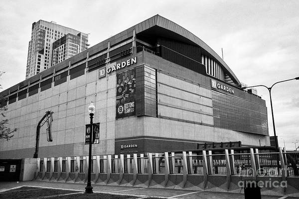 Wall Art - Photograph - Td Garden Arena Home To The Boston Bruins And Boston Celtics Boston Usa by Joe Fox